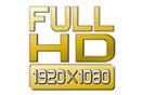 Full-HD mit 1920 × 1080 Bildpunkten